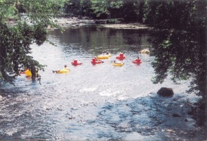 River Tubing on the Little Wolf @ Barb Wilkinson's residence | New London | Wisconsin | United States